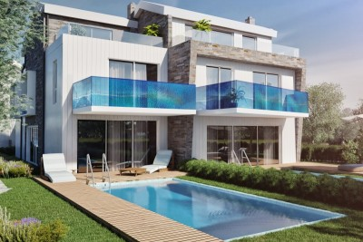 Attractive villa - 70 m from the sea - under construction