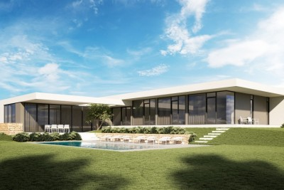 Luxurious villa with sea view - under construction