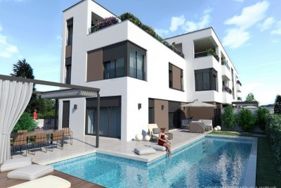 Gorgeous house with roof terrace and sea view - under construction